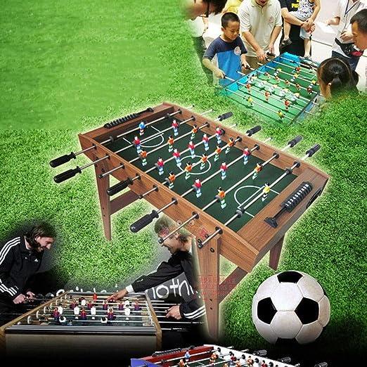 YIHGJJYP Futbolin Fútbol de Mesa 8-Bar Máquina Madera Interior Juego Interactivo para Padres e Hijos Juguete Niño Fitness Deportes Niños Educación: Amazon.es: Hogar