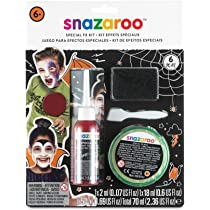 Snazaroo - Kit de maquillaje para caras con efectos especiales: Amazon.es: Juguetes y juegos