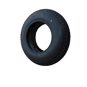 Set Reifen Schlauch 400x100 4 80 4 00 8 Stollen Profil Pr4 Lagen Tragfähigkeit 305 Kg Gewerbe Industrie Wissenschaft