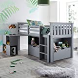 Julian Bowen Lincoln Solid Pine Wooden Bunk Bed For Kids Amazon Co