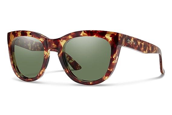 Smith sicpgnyt Sidney para mujer amarillo tortuga marco Chromapop polarizadas gris lente verde gafas de sol