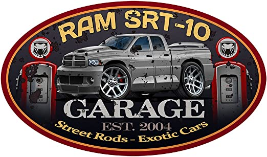 "Dodge Viper SRT 10 12/"" Sticker Stickers Decal 2"