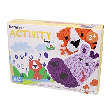 Serabeena Learning And Activity Box Toddler Craft Kit Encourages