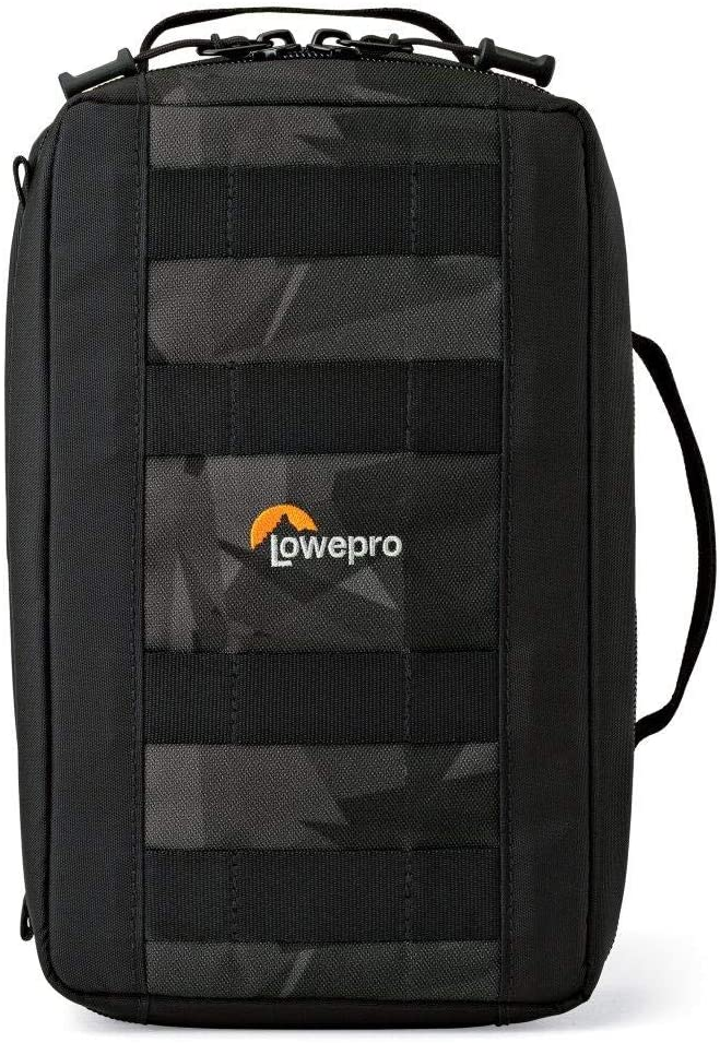Lowepro LP36913 ViewPoint CS 80 - A Soft-Sided Protective Case for DJI Spark, 360 Fly or 3 GoPro Action Cameras,Black