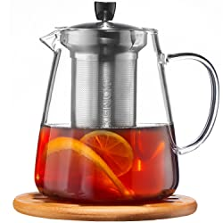 CUSINIUM Glass TeaPot with Infuser