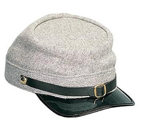5328e6d93cb Adult Deluxe Confederate Kepi Hat Standard  Amazon.ca  Sports   Outdoors