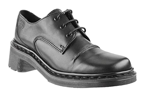 discount shop thoughts on great fit Dr. Martens Womens Catwalk Lace 3 Eye Oxford Shoe, Black