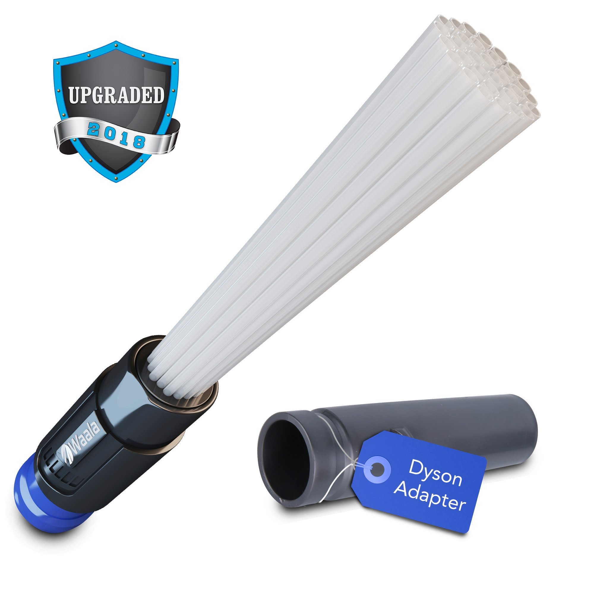 Dust Pro Cleaner, Vacuum Attachment, Vacuum Attachments suitable for Dust Removal, Vent Cleaning, Fan Blades, Keyboards and More by Waala
