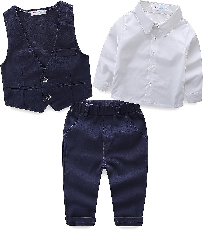 Amazon.com: Mud Kingdom - Trajes para boda, camisas blancas ...