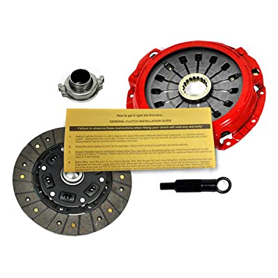 EFT RACING 1 HD CLUTCH KIT FOR 2000-2005 MITSUBISHI ECLIPSE GT GTS 3.0L V6: Automotive