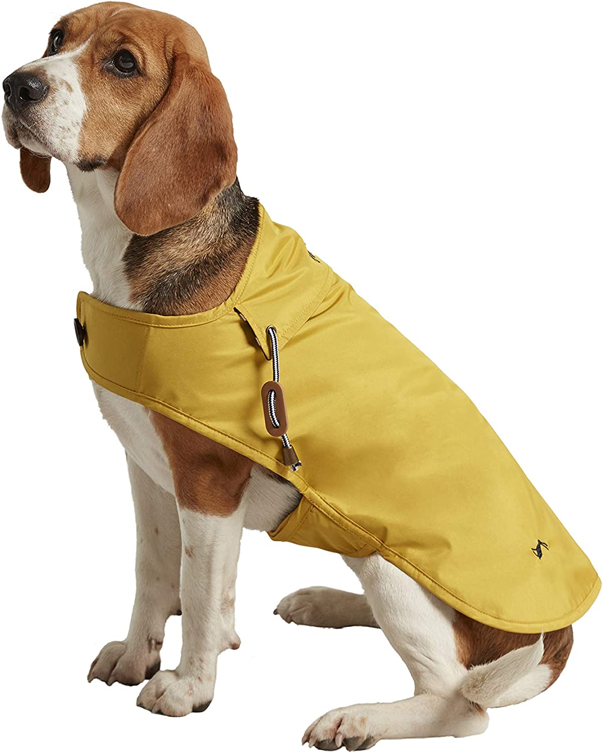 Rosewood Joules Mustard Water Resistant Dog Coat, Small, Mustard Yellow, 0.17 kg