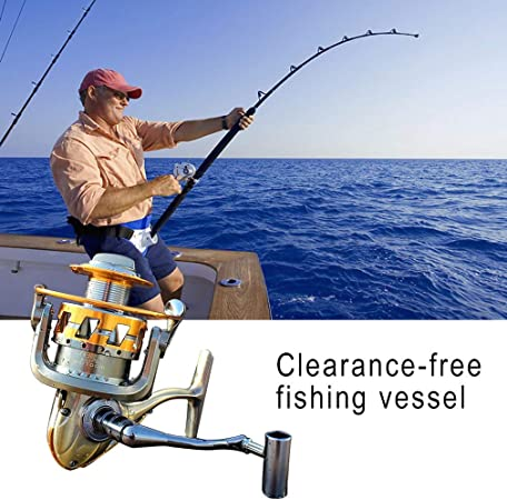 KinshopS Gapless Reel Fishing Wheel Fishing Line Spinning Wheel Sea Bream Wheel: Amazon.es: Hogar