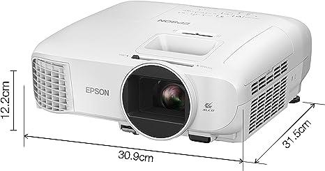 Epson Eh Tw5700 Full Hd Videoprojektor 1080p 2700 Lumen Dynamisches Kontrastverhältnis Von 35 000 1 3lcd Technologie Heimkino Tv Video