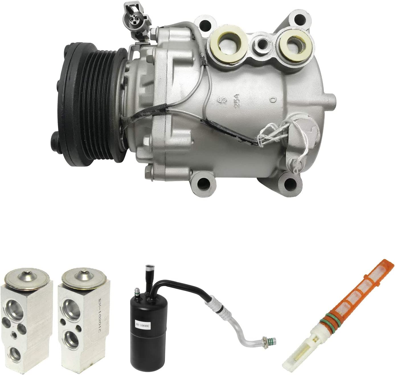 RYC Remanufactured AC Compressor Kit KT AG14