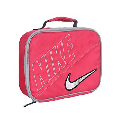 Nike Swoosh Lunch Tote - Dark Pink: Kitchen & Dining