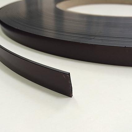 Cinta autoadhesiva magnética MAGSTICK® 424, 12,5 mm de ancho, 1,5 mm de grosor, con banda magnética. Para material de presentación, fotos, estanterías, ...