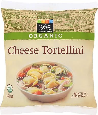 365 Everyday Value Organic Cheese Tortellini 22 Oz Frozen