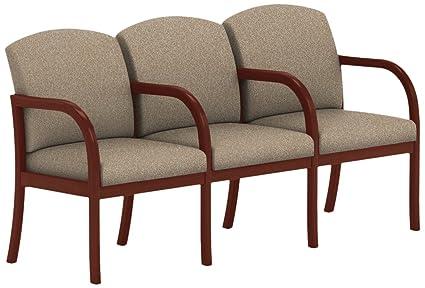 Amazon.com: Lesro Weston W3303G5YVTERR 3 Seats Sofa with ...