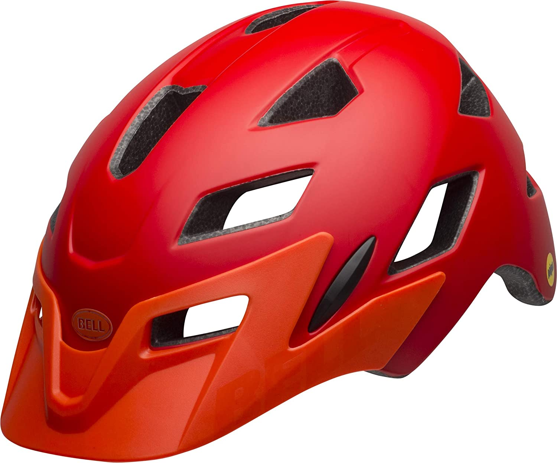 BELL Sidetrack Youth Casco de Ciclismo, Infantil, Rojo Mate ...