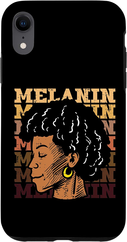 iPhone XR Melanin Black Girl History African American Pride BLM Women Case