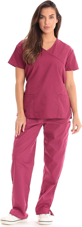 Just Love Women's Scrub Sets Medical Scrubs (Tie Back)