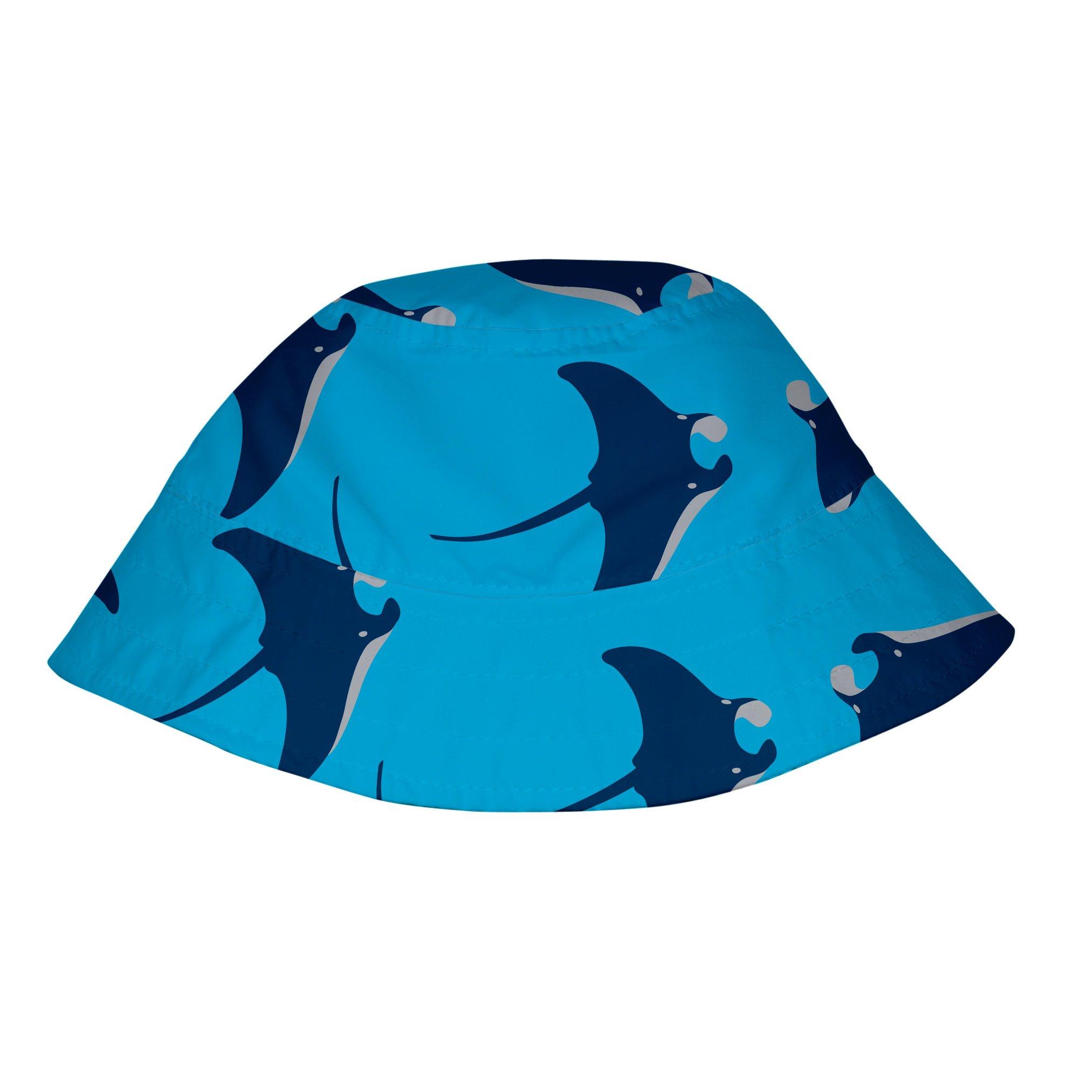 i play. Baby Bucket Sun Protection Hat, Aqua