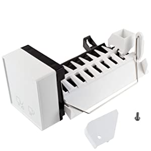 Supplying Demand 2198597 Refrigerator Heavy Duty Ice Maker Compatible With Whirlpool Fits 1016069, 2198597VP