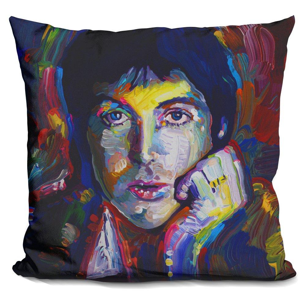 LiLiPi Paul McCartney Decorative Accent Throw Pillow iLeesh ARL1487-SQ-16