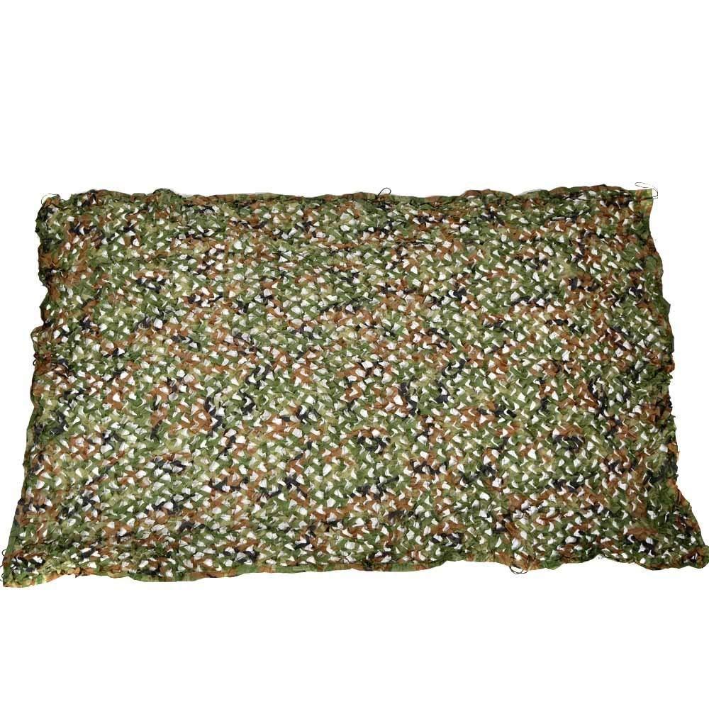 23m Filet Camo Visière Extérieure GR Mode Desert Camouflage Net Camping Oxford Cloth Jungle Net Parasol Ombre extérieure Net Champ Vert Net Multi-Taille en Option (Taille  3  5m) Armée Camo Filet