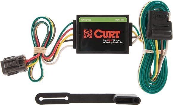 Amazon Com Curt 55331 Vehicle Side Custom 4 Pin Trailer Wiring Harness For Select Honda Passport Isuzu Rodeo Automotive