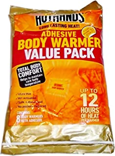 product image for HotHands Body Warmer with Adhesive 8 Warmer Value Pack