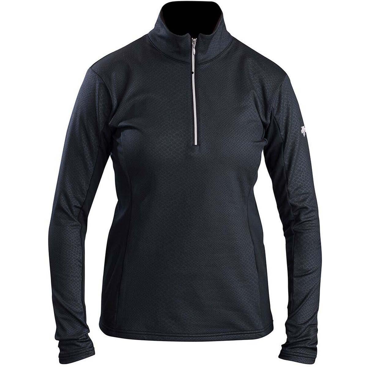 Descente Bailey t-neck Womens Mid Layer 12 ブラック B01LD990Y8