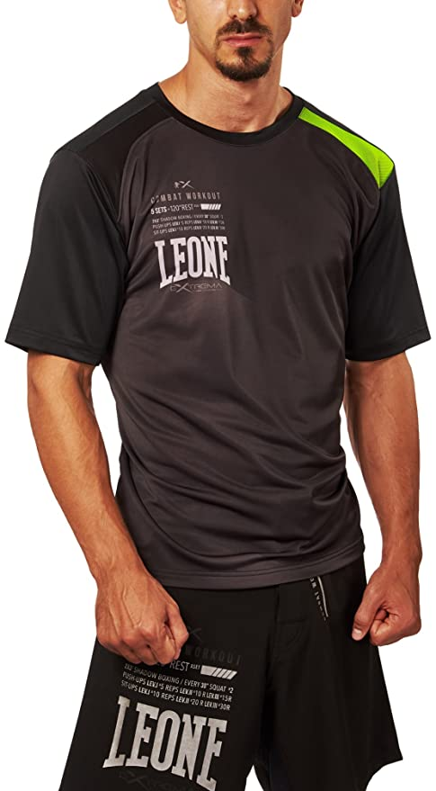 Leone 1947 ABX22 Pro-CW Camiseta, Unisex - Adulto, Negro, M ...