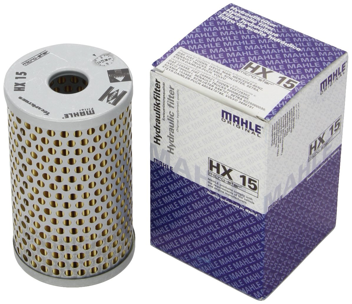 Hydraulikfilter Lenkung HENGST FILTER E10H02