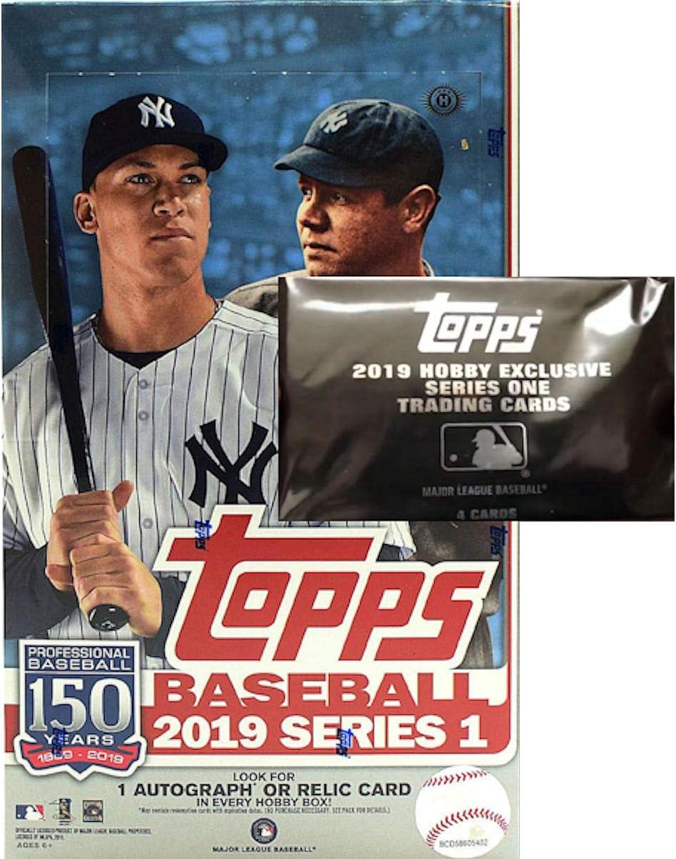 2019 Topps Series 1 Sealed Jumbo Hobby Box NO Silver Pack