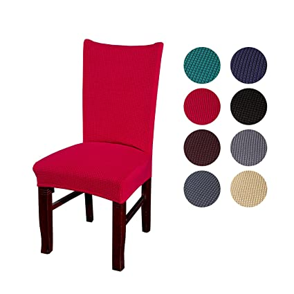 Astounding Funk Chair Covers Dinning Room Jacquard Polyester Spandex Dining Seat Protector Stretch Chair Slipcovers Removable Wedding Party Banquet Hotel Machost Co Dining Chair Design Ideas Machostcouk