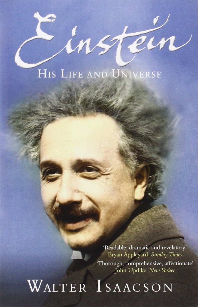 Image result for Einstein: His Life and Universe by Walter Isaacson book cover