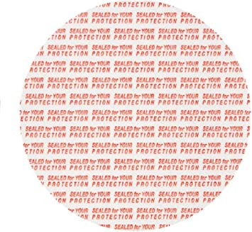 38mm Pressure Sensitive Foam Red Cap liner Sealed for your Protection Tamper USA