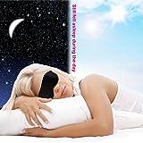 Silk Sleeping Blindfold Mask with Adjustable