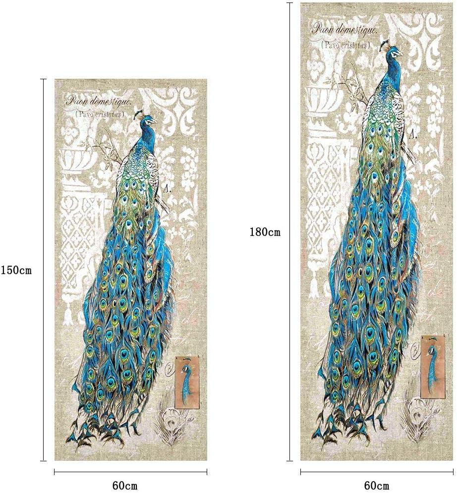 60x180cm 23.6x70.8 Julymall HD Large DIY Adhesive Removable Waterproof Vinyl Sticker Decals Printing Paper Decor Fridge Wardrobe Covering Full Door Animal ,Giraffes Mom/&BAB. , Giraffes Mom/&Baby