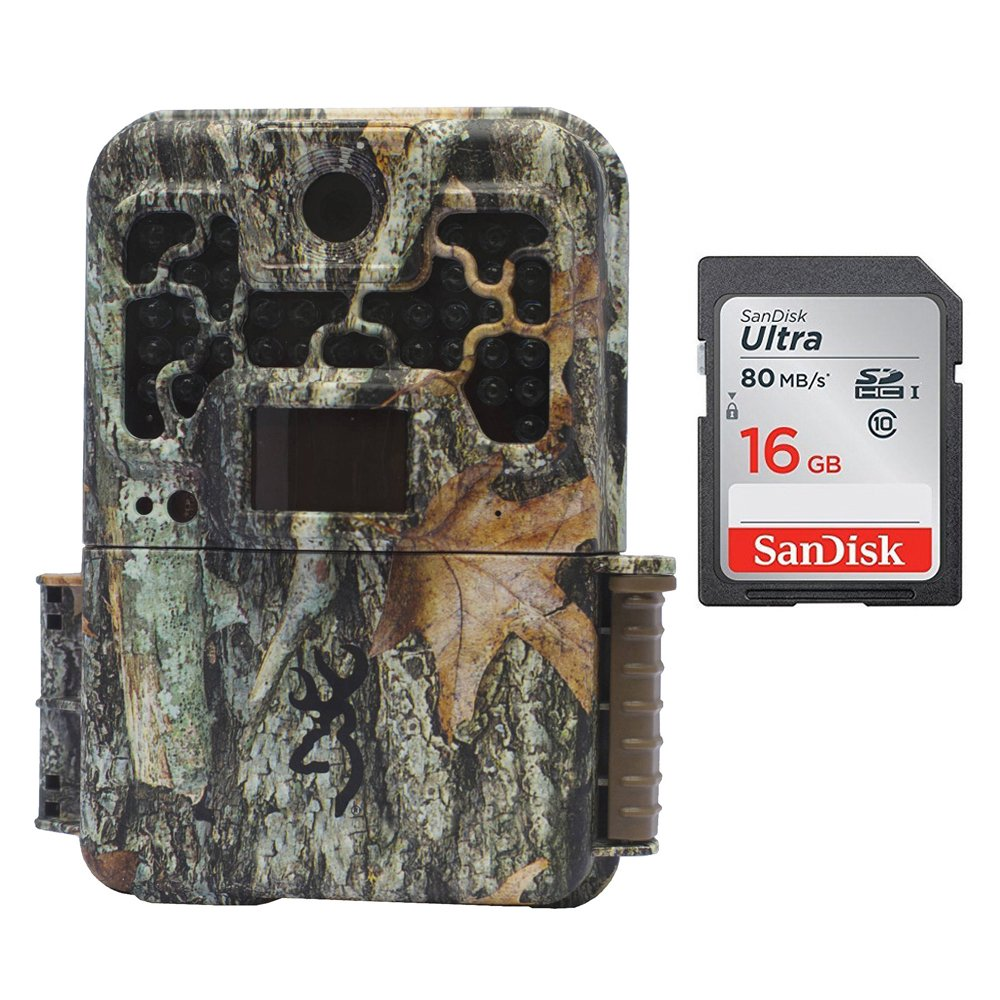 Browning RECON FORCE FHD EXTREME Color Screen (20MP) | BTC7FHDX with 16GB Card by Browning Trail Cameras