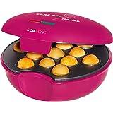 Clatronic CPM 3529 Máquina de hacer cake pops, placa antiadherente 900 W, Morado