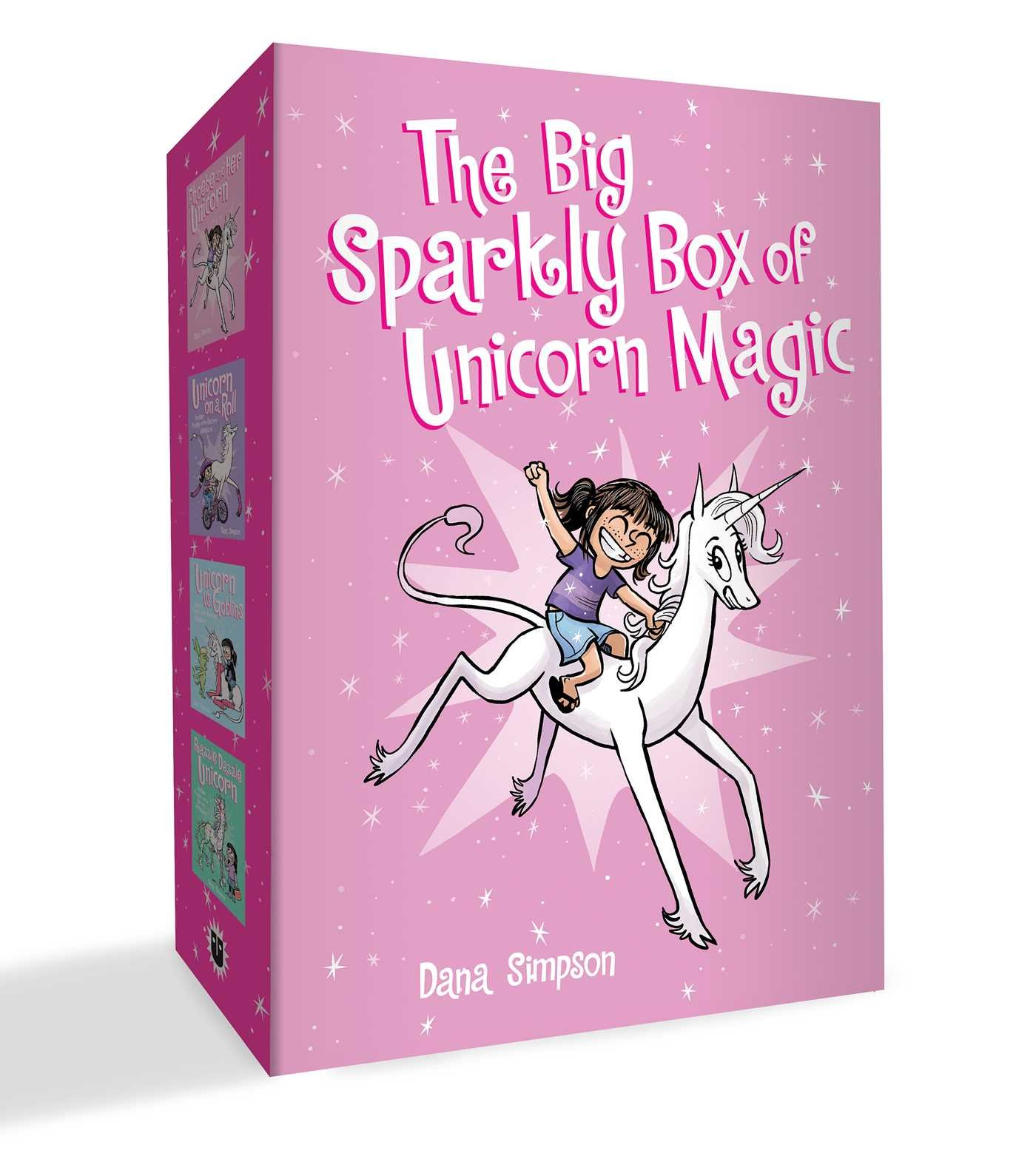 The Big Sparkly Box of Unicorn Magic: Phoebe and Her Unicorn Box Set Volume 1-4 3