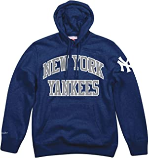 Mitchell   Ness New York Yankees MLB Playoff Win Pullover Hooded Sweatshirt d428a032c