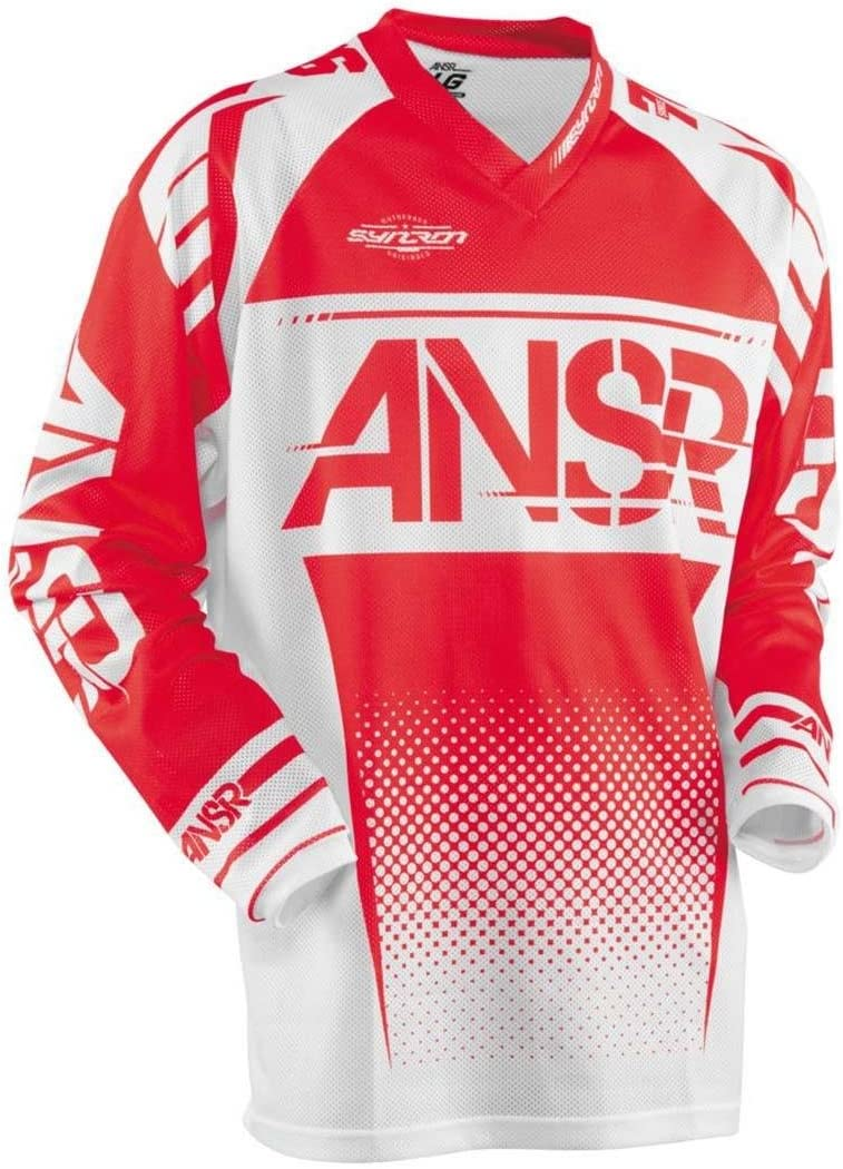 Red//White//X-Large Answer Racing A17.5 Syncron Air Boys Off-Road Motorcycle Jerseys