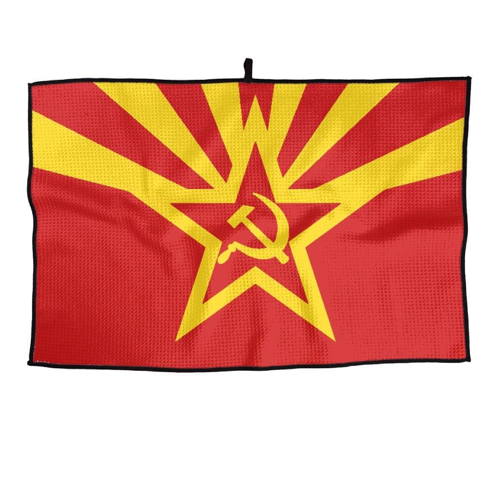 ゲームLife Arizona State Flag Personalizedゴルフタオルマイクロファイバースポーツタオル   B07FCGW3CY