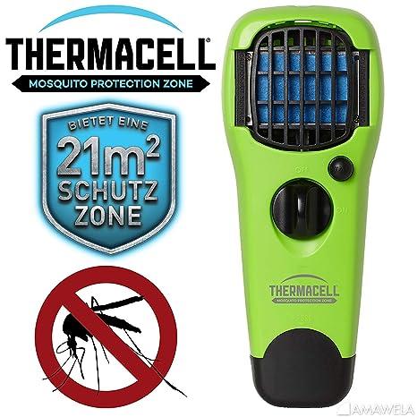Etwas Neues genug Thermacell NEU 2019 Handgerät MR-LJ Lime gegen Mücken #BL_74