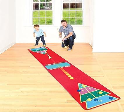 Amazon Shuffleboard Rug Game