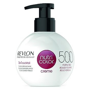 Ongebruikt Amazon.com : REVLON PROFESSIONAL Nutri Colour Creme 200 Violet 270 XE-95