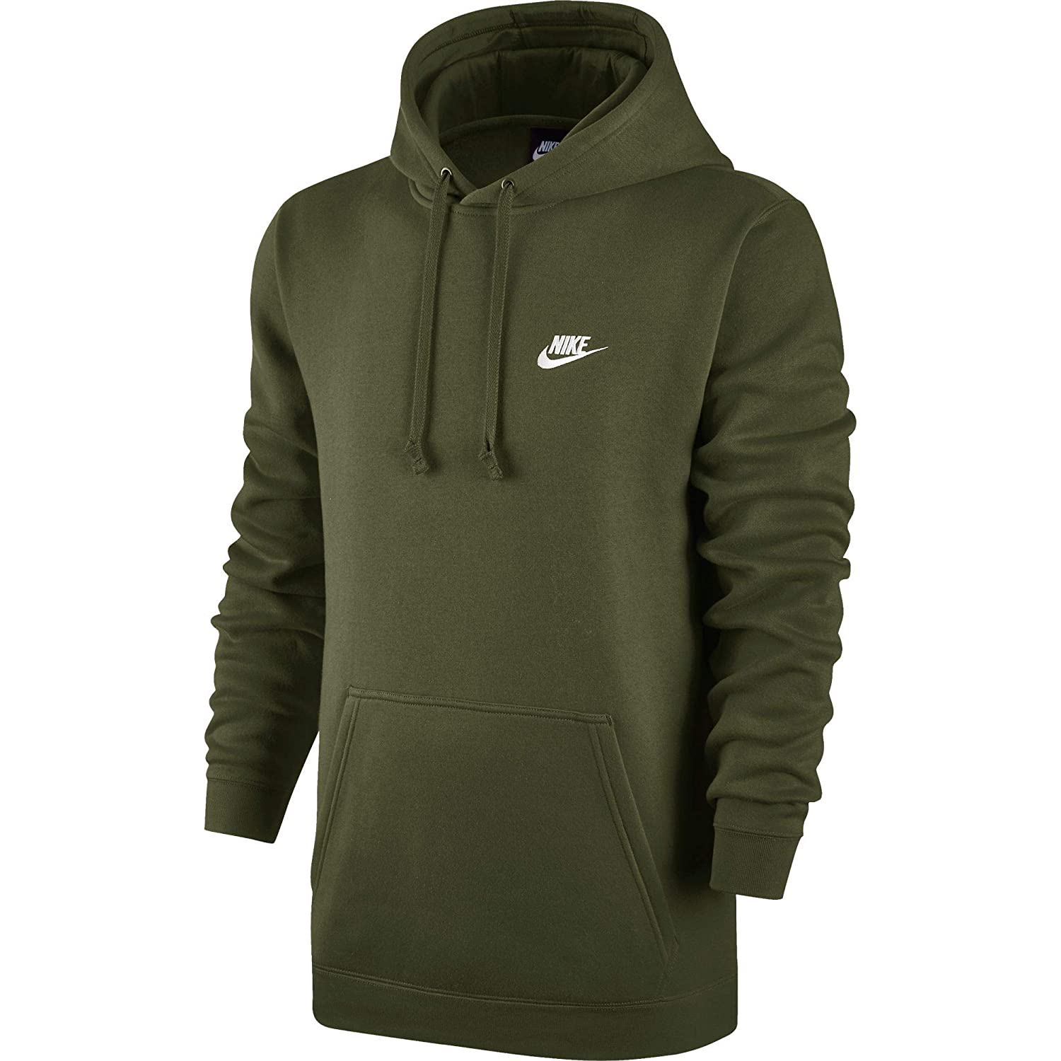 87c78a9b312e Amazon.com  Nike Sportswear Men s Pullover Club Hoodie  Sports   Outdoors